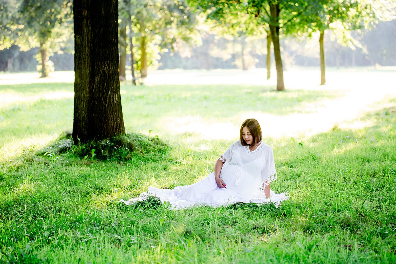 Babybauchfoto bzw Schwangerschaftsfoto in Meppen