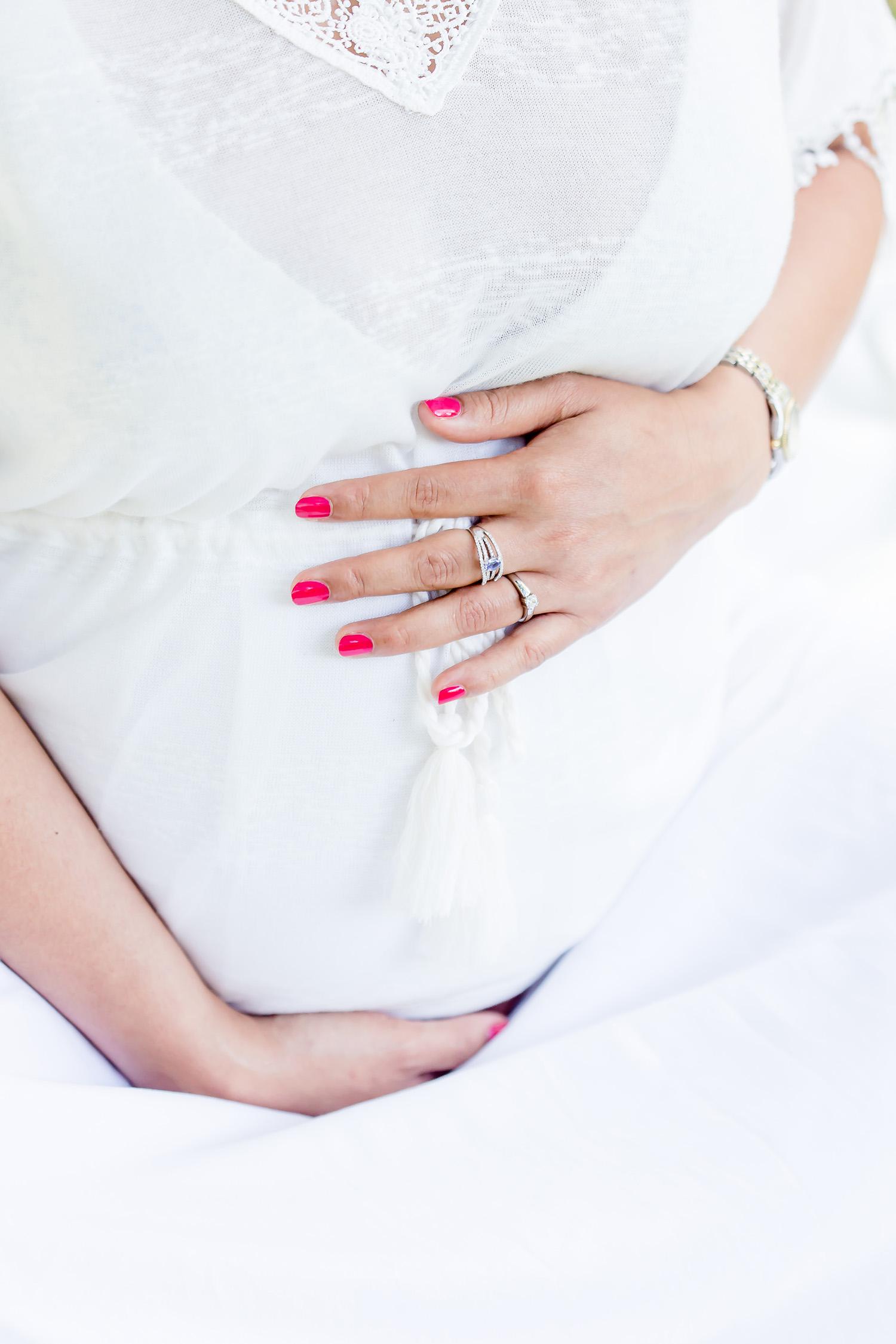 Babybauchfoto bzw Schwangerschaftsfoto in Cloppenburg