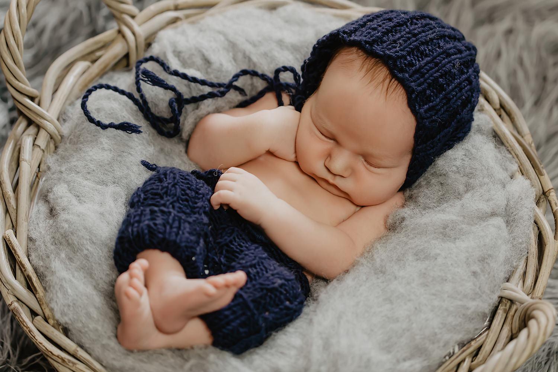 Babyfoto eines Babyfotografen in Weener