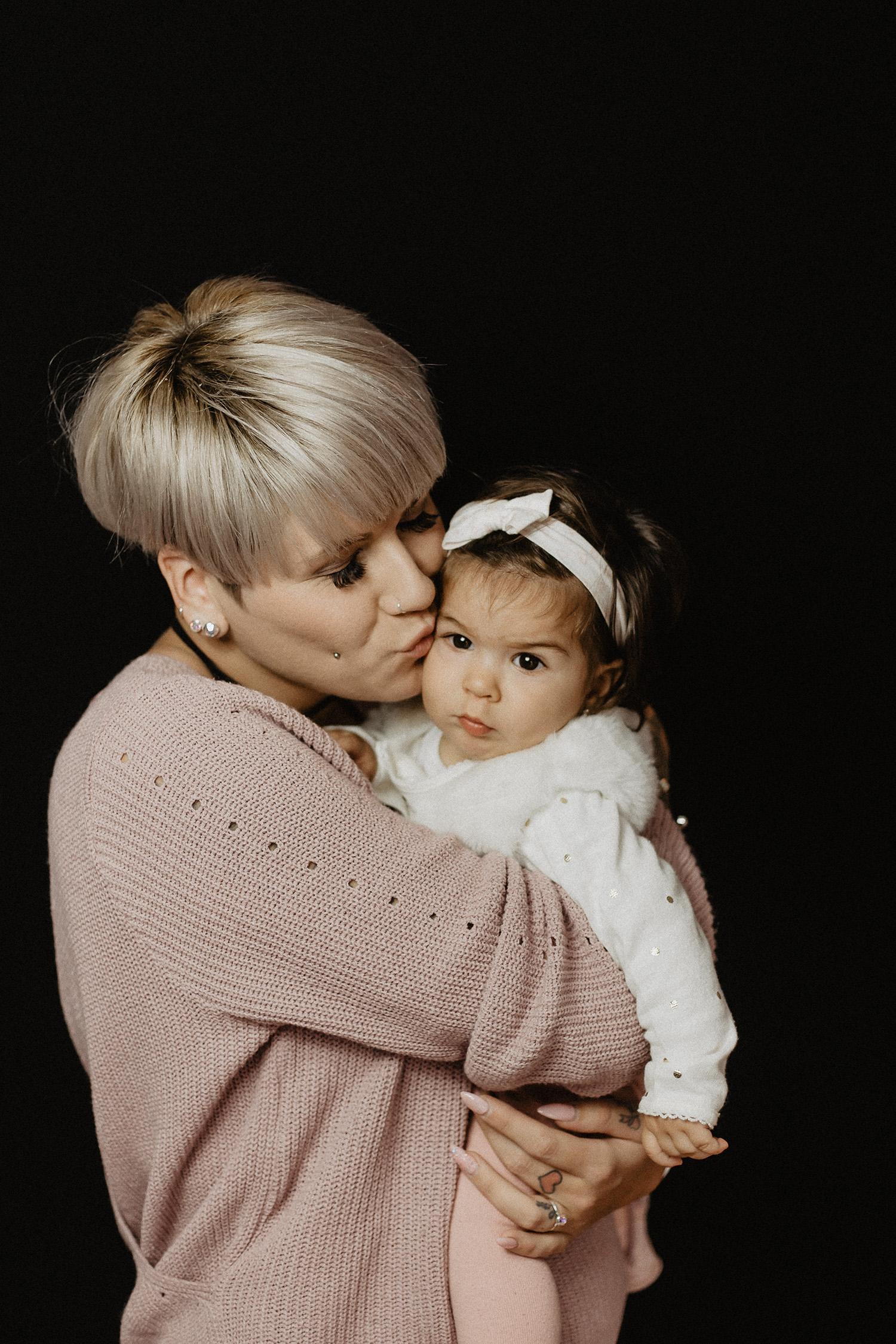 Babyfoto eines Babyfotografen in Lathen Emsland