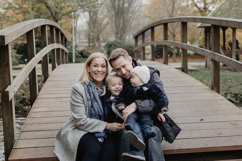 Familienfoto in Hude