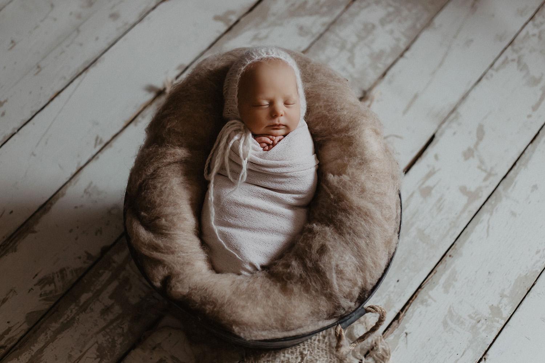 Babyfoto / Foto eines Fotografen / Babyfotografen in Meppen