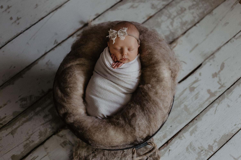 Babyfoto / Foto eines Fotografen / Babyfotografen in Leer