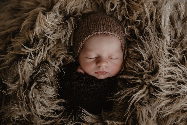 Babyfoto eines Fotografen / Babyfotografen in Meppen