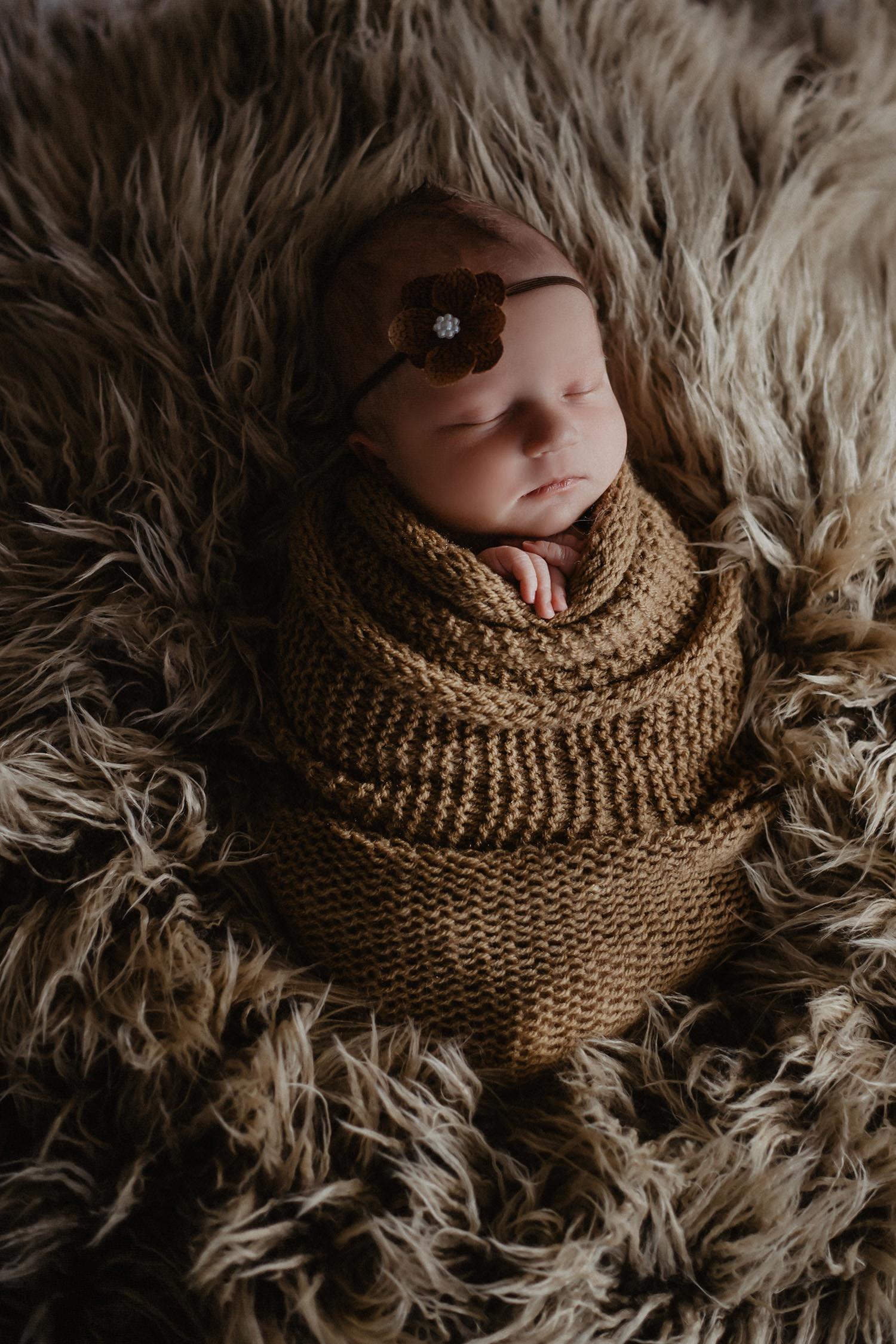 Babyfoto eines Babyfotografen in Emsland