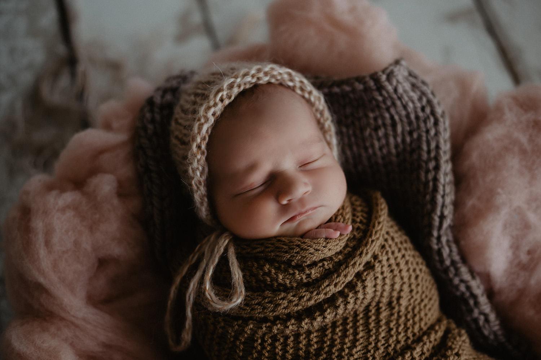 Babyfoto eines Babyfotografen im Papenburg