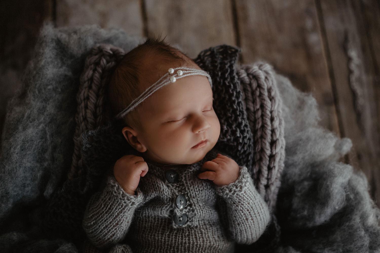 Babyfoto eines Babyfotografen in Meppen