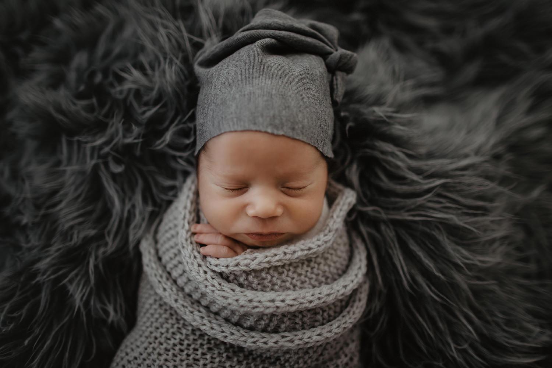 Babyfoto eines Fotoshootings im Emsland